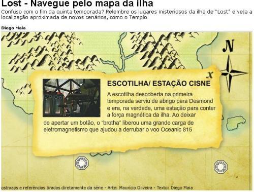 mapa lost